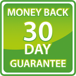 We offer a 30 Day Money Back Guarantee.