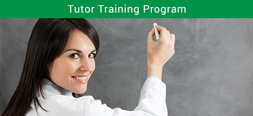 Tutor Training Program