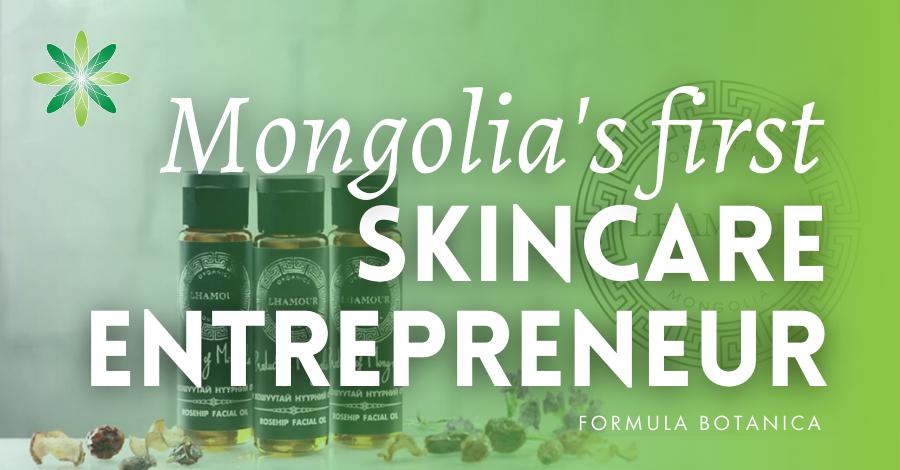 2014-12 Mongolia's first skincare entrepreneur