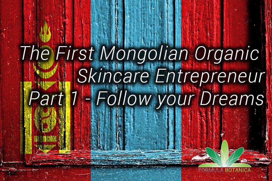 Mongolian Skincare Entrepreneur