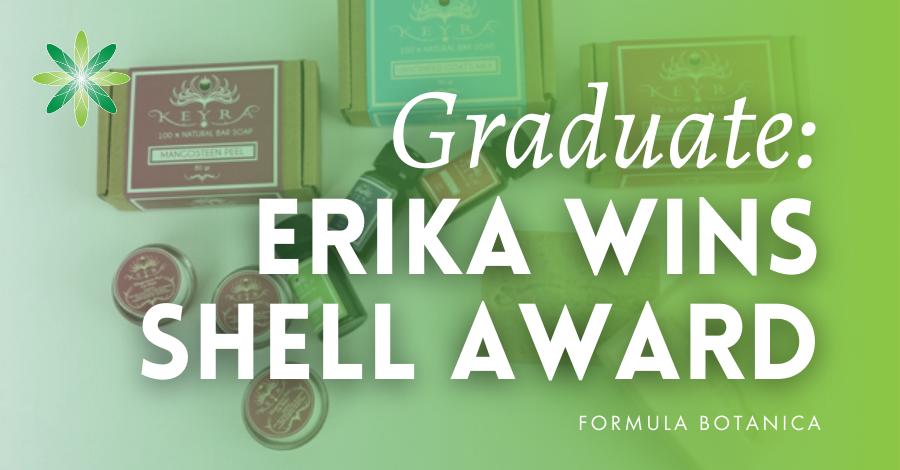 2015-02 Formula Botanica graduate wins Shell Award