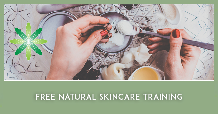 Free Organic Natural Skincare Training