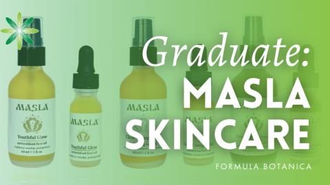 Graduate Success Story: Aleksandra Andrade launches Masla Sensible Skincare