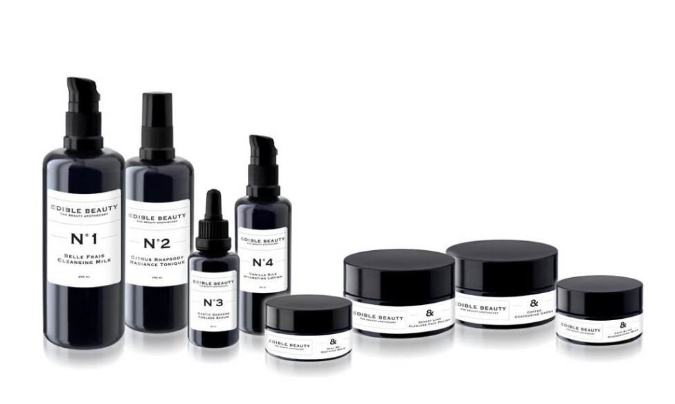 The Beauty Apothecary Edible Beauty Skincare Range