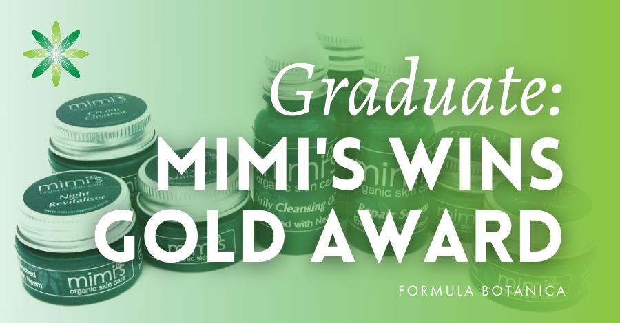 2015-07 Mimi's Organics wins gold award