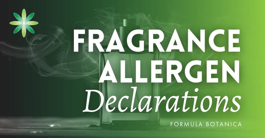 2015-07 Fragrance allergen declarations