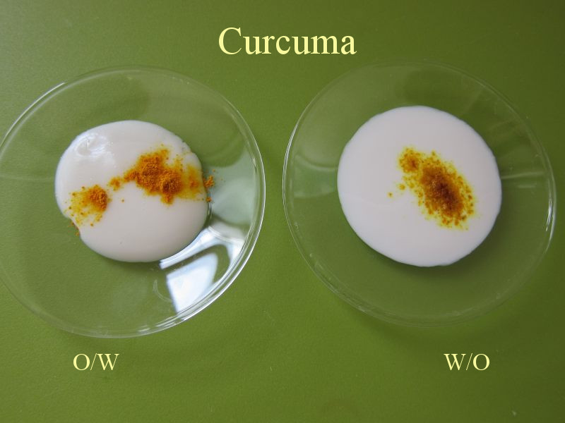 Cosmetic Emulsion - Colour Dispersion