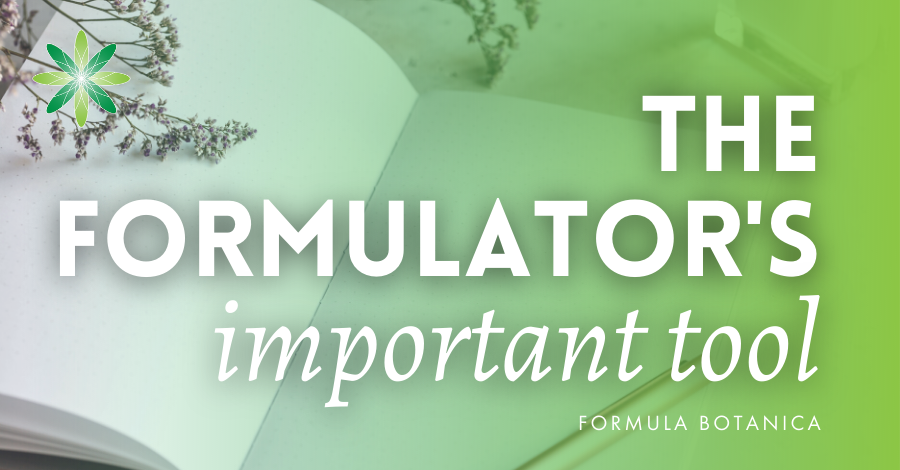 2015-11 the Formulator's most important tool