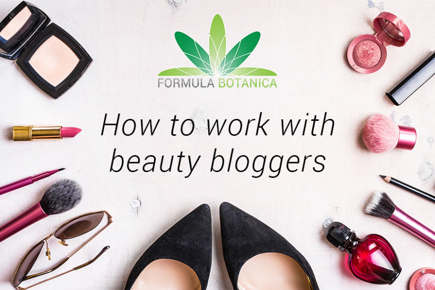 How to work with beauty bloggers