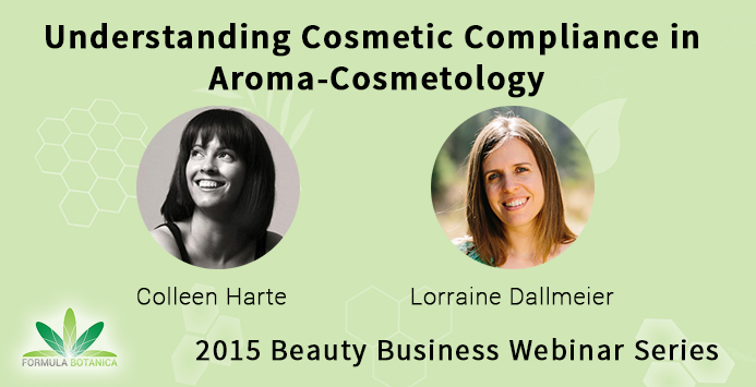 Free Webinar: Legal Compliance for Essential Oils in Cosmetics