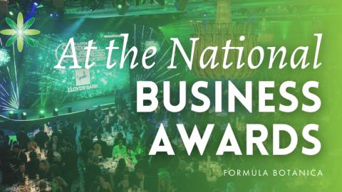 Formula Botanica attends the National Business Awards