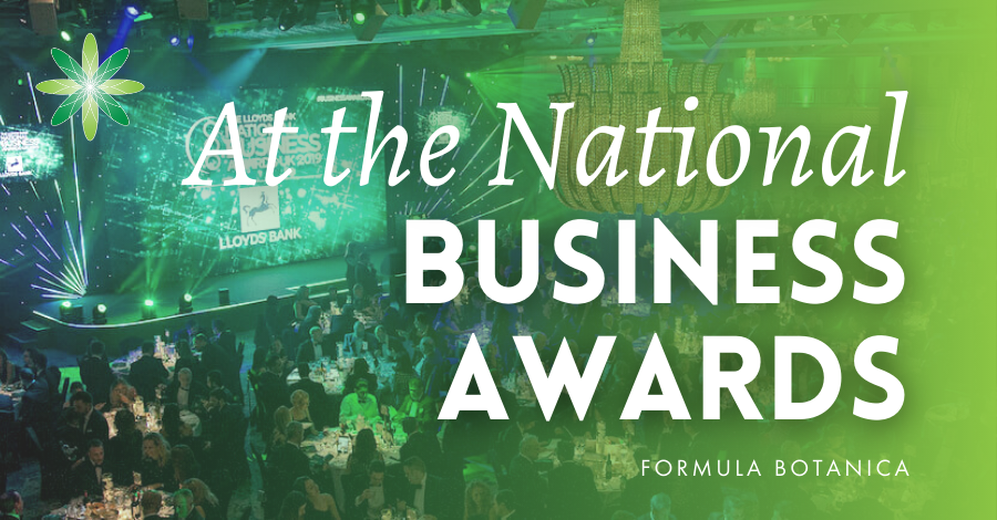 2015-11 Formula Botanica at National Business Awards