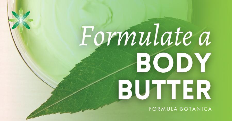 2015-11 Formulate a body butter