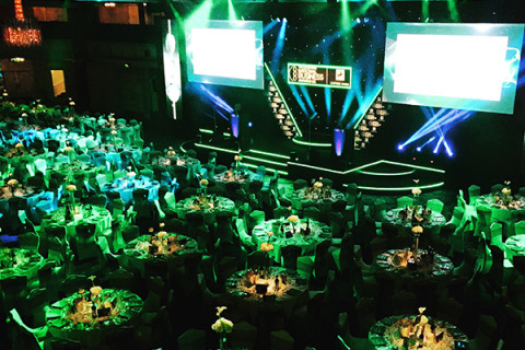 Formula Botanica attends the National Business Awards