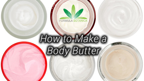 How to Make a Body Butter – Formula Botanica