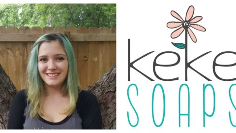 Meet the Teen Beautypreneur: Kealie from KeKe Soaps