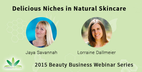 Free Webinar: Finding your Skincare Niche