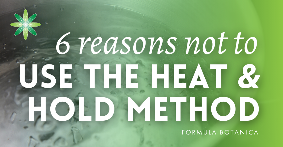2015-12 Reasons not to use the heat and hold method