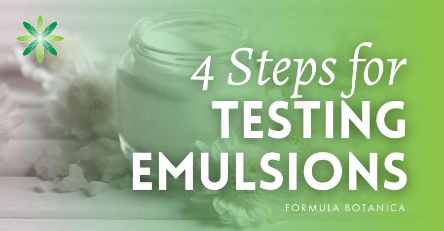 2015-12 Steps for testing emulsions