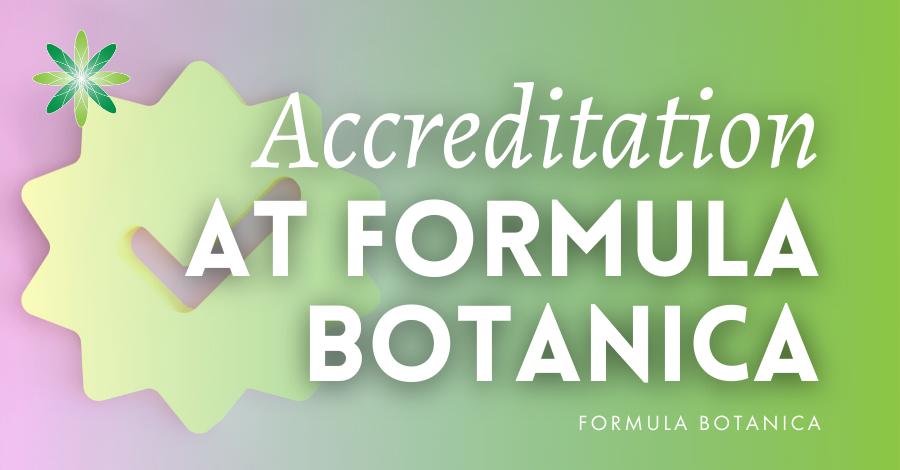 2016-01 Accreditation at Formula Botanica