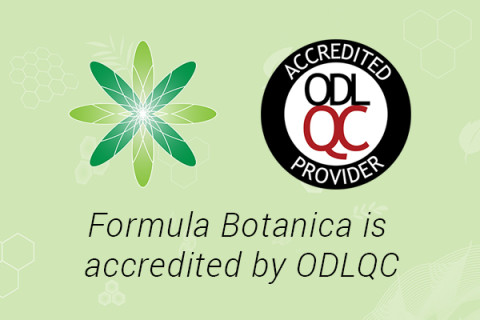 Formula Botanica is accredited by the Open & Distance Learning Quality Council