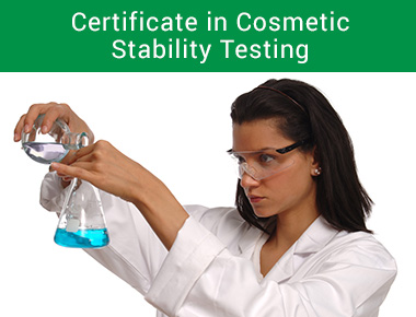 Certificate in Cosmetic Stability Testing