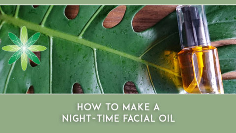 How to make a Night-Time Facial Oil for Mature Skin