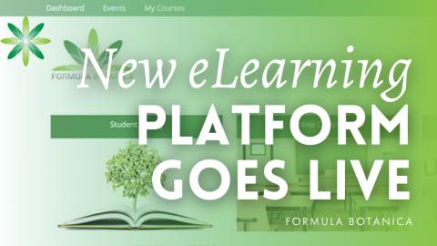 Formula Botanica's new eLearning platform goes live