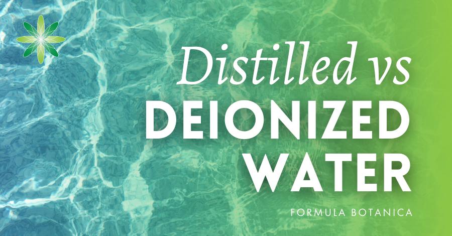 2016-03 Distilled vs deionized water