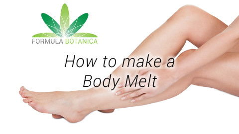 How to make a Body Melt or Lotion Bar