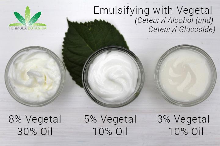 Emulsifying with Vegetal
