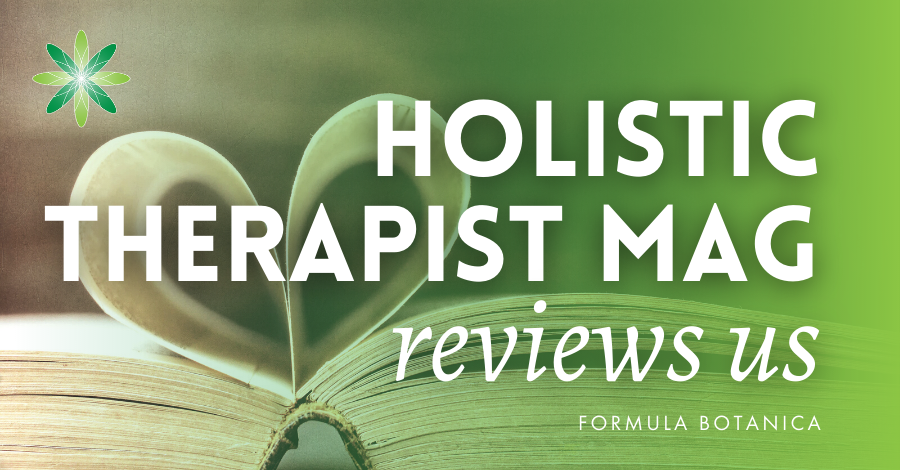 2016-07 Holistic therapist magazine review