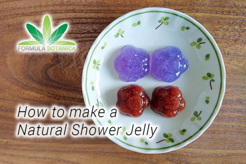 How to make a Natural Shower Jelly