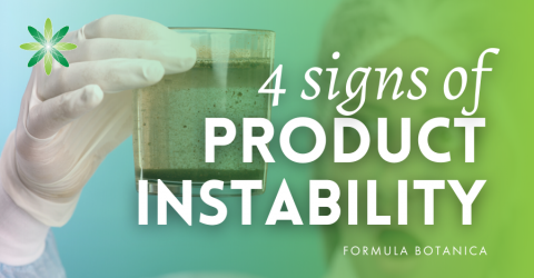 4 Signs of Cosmetic Product Instability