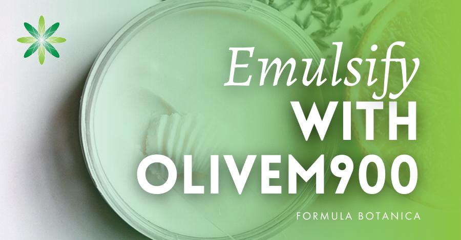 2016-09 Emulsify with Olivem 900