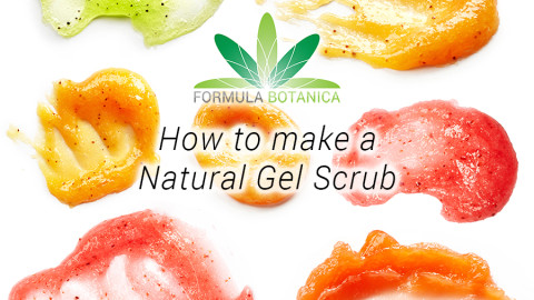How to make a Natural Gel Scrub