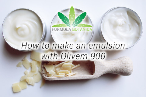 How to make an emulsion with Olivem 900