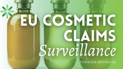 Results of 2016 EU Cosmetic Claims Surveillance