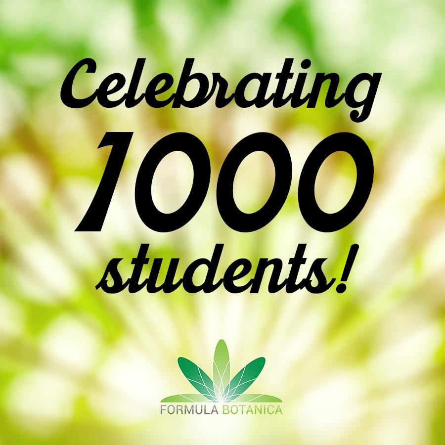 1000 Formula Botanica Students