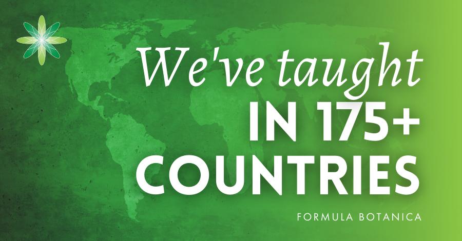 2016-11 Formula Botanica teaches in 175 plus countries