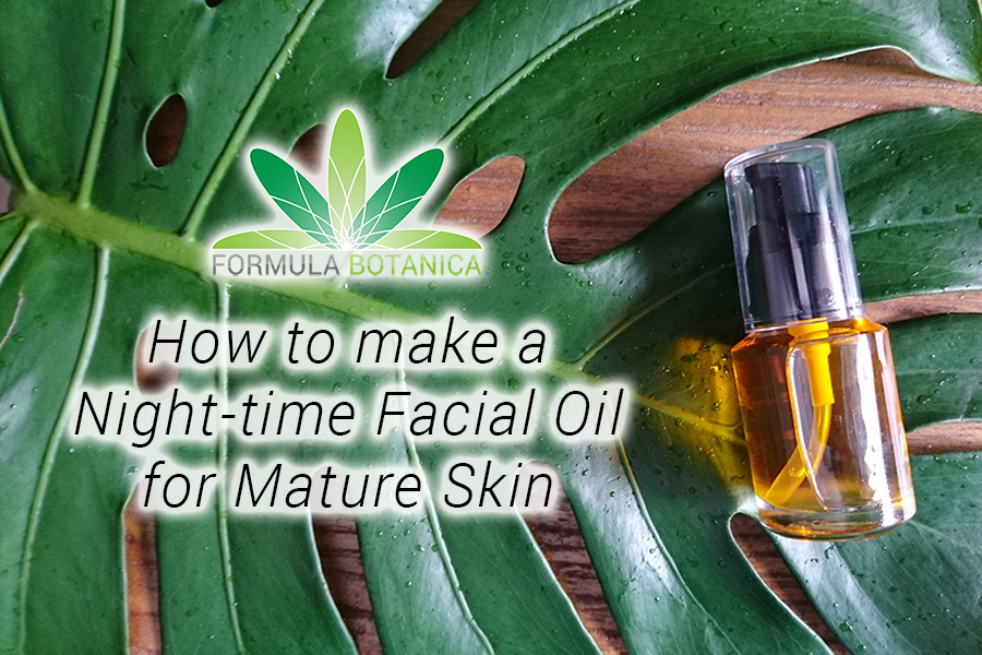 Nighttime Facial Oil for Mature Skin