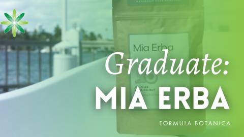 Graduate Success Story: Camila Olivares launches Mia Erba