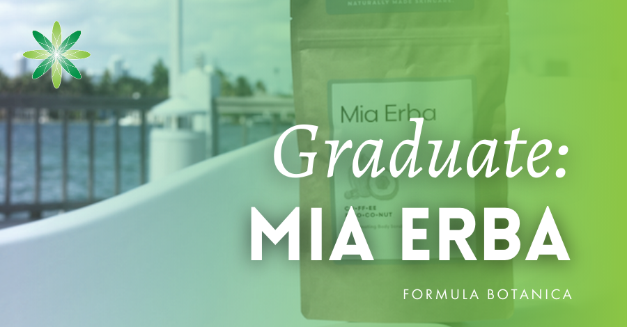 2016-12 Formula Botanica Graduate Mia Erba