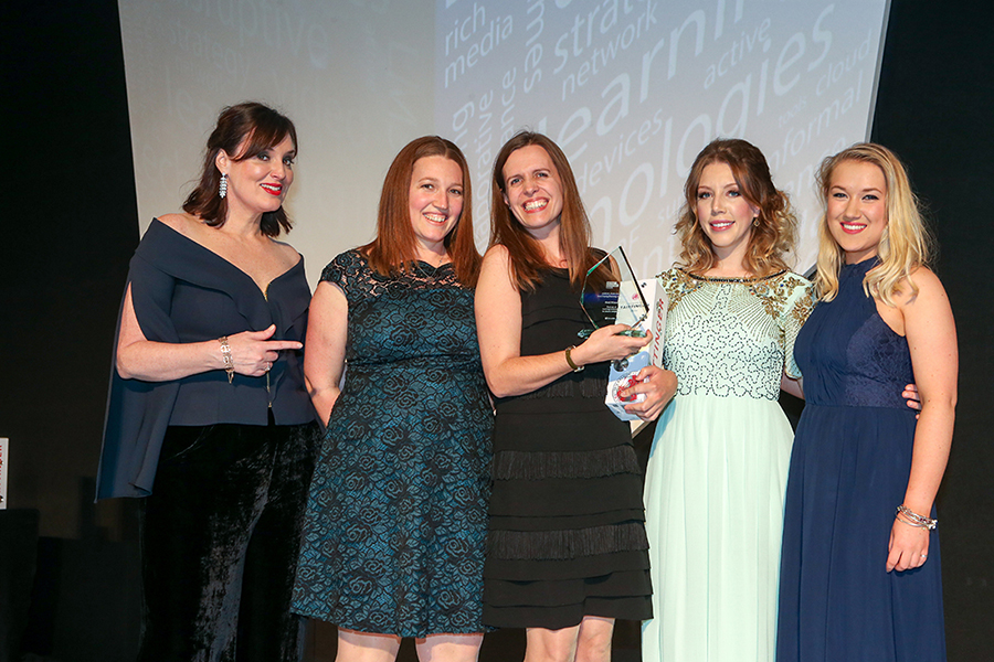 Formula Botanica wins the Gold Award at the Learning Technologies Awards