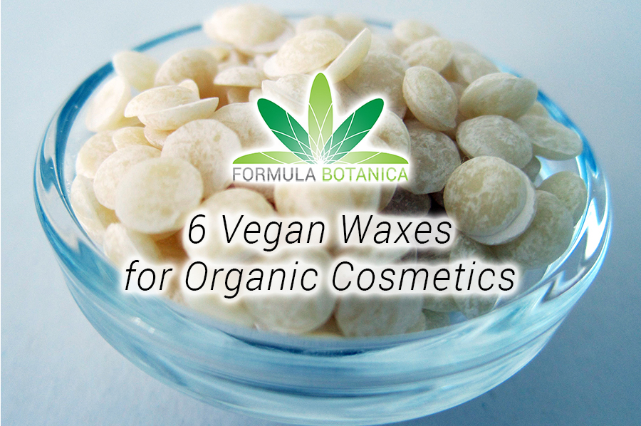 6 Vegan Waxes for Organic Cosmetic Formulations