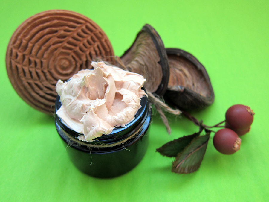 Whipped Butter Foot Balm with Rose Clay