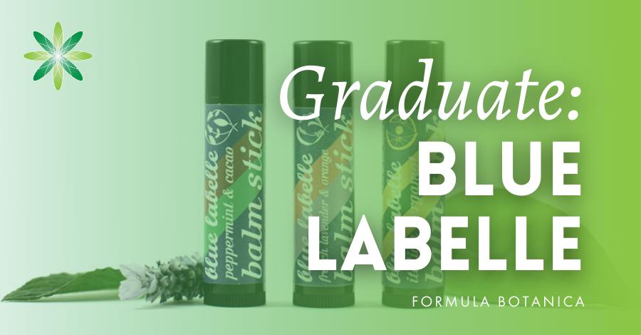 2017-02 Blue Labelle Formula Botanica graduate