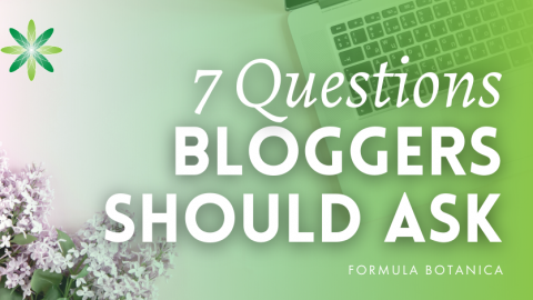 7 Questions all Green Beauty Bloggers should ask Artisan Brands