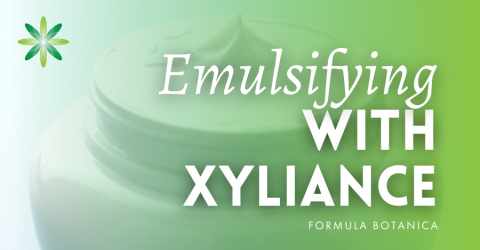 How to make an emulsion with Xyliance