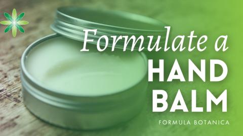 How to make a Nourishing Hand Balm